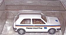 VW Golf HAPAG LLOYD AVION Werbemodell WIKING 1:87 å