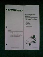 TROY BILT LTX 13102 - 13123 TRACTOR MOWER OWNERS MANUAL