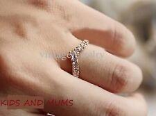 Versione Coreana dei nuovi design unici di personalizzata a forma di V anello di diamanti