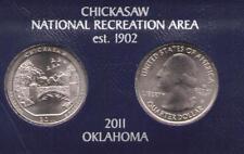 US National Parks Quarter 2011: Chickasaw D / P