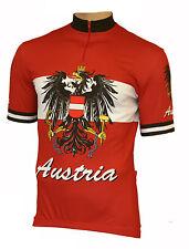 Radtrikot Austria Österreich kurzarm (auch Übergrößen bis 6XL)