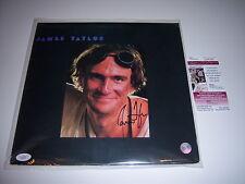 JAMES TAYLOR SELF TITLED JSA/COA SIGNED LP RECORD ALBUM