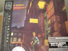 Ziggy Stardust DAVID BOWIE RARE JAPAN REPLICA TO ORIGINAL LP IN A OBI SEALED CD