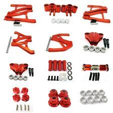 Aluminum Alloy CNC metal Upgrade DIY parts Red Fit For TRAXXAS 1/16 SLASH Rc Car