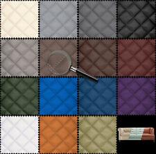 Kunstleder Gestepptes 15-farben Meterware Polsterstoff Möbelstoff 50-100cm 5x5