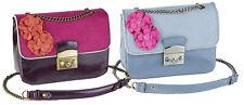 Ruby Shoo Salvador Shoulder Satchel Bag Sky Blue Purple