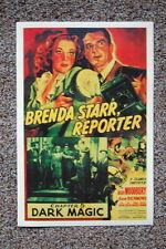93568 Brenda Starr ReporterLobby Card Dark Magic Decor WALL PRINT POSTER FR