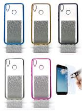 "Funda Carcasa Bumper Gel TPU Metalizada Huawei P Smart + Plus (4G) 6.3"""
