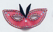 Red Devil Domino Eye Mask Masquerade Ball Fancy Dress P1343