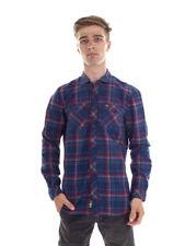 O´Neill Camisa Casual de franela Violator flannell Blau CUADROS