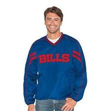Buffalo Bills G-III Sports Mens Red Zone V-Neck Pullover Jacket - Blue