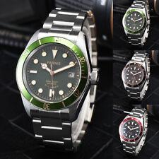 41mm Parnis Sapphire Glass 21 Jewels Miyota Automatic Men Watch Luminous Marker