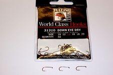 FULLING MILL DOWN EYE DRY CODE31310 TROUT FISHING HOOKS 50 PER PACKET