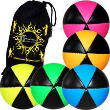 ASTRIX Pro Thud balles de jonglage - Lot 5 + flames N GAMES sac