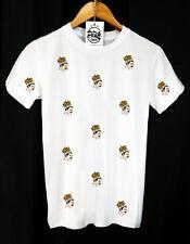 FREDDIE MERCURY PATTERN T-SHIRT - ROCK AND ROLL - QUEEN - BRITISH - CLOTHING