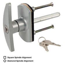 Reemplazo de bloqueo de seguridad cerradura de puerta de garaje Mango en T Eje Cuadrado De Diamante