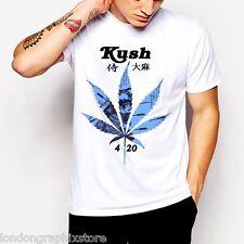 Marijuana T-Shirt, Weed Cannabis, 420, blunt, bong, drugs men swag Reggae new