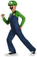 Luigi Classic Nintendo Super Mario Brothers Fancy Dress Halloween Child Costume