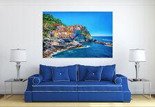 3D Coastal City 82  Wall Stickers Vinyl Wall Murals Print Decal Art AJSTORE CA