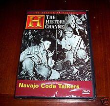 WWII PACIFIC WAR NAVAJO CODETALKERS Saipan US Marines History Channel DVD NEW