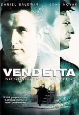 VENDETTA, NO CONSCIENCE, NO MERCY VERY GOOD CONDITION (DVD, 2004)