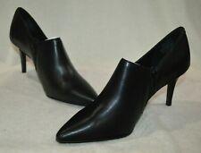 Simply Vera Vera Wang Women's Realism Black Leather High Heels-Asst Sizes NWB