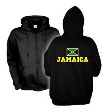 Kapuzenjacke JAMAICA Flagshirt Zip Hoodie Fan Sweatjacke S-6XL (WMS02-30e)