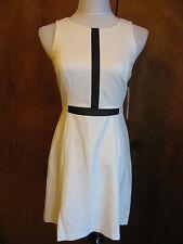 Ralph Lauren women's lined off white detailed dress New