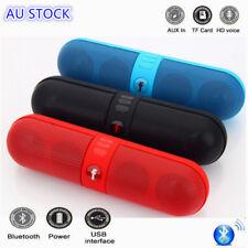 Portable Bluetooth 4.1 Boombox Wireless Stereo Mini Speaker AUX/TF/USB/FM/Radio