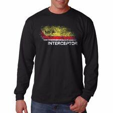 Mad Max MFP Interceptor POURSUITE VOITURE V8 Noir à Manches Longues T-shirt en coton 9279