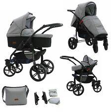 LIMITED BIG SALE Baby Pram Stroller Car seat - Pushchair - Buggy swivel wheels