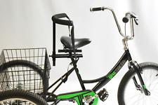 SPECIAL NEEDS ADJUSTABLE BIKE OR TRIKE SEAT BACK REST SUPPORT + BELT
