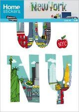 *NOUVELLES IMAGE  Home Stickers*Big*Wandtattoo*Möbel- Aufkleber*NEW YORK*
