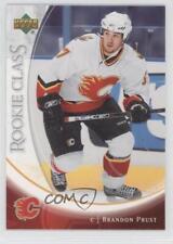 2006-07 Upper Deck Rookie Class #36 Brandon Prust Calgary Flames Hockey Card