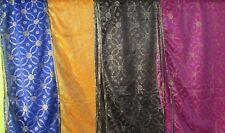 Women new design gold emboridery  shawls nat materil plain fashion