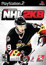 NHL 2K8  (PS2), Excellent PlayStation2, Playstation 2 Video Games
