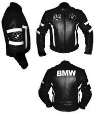 BMW HOMMES MOTORBIKE VESTE EN CUIR MOTORRAD LEDER JACKE GIACCA IN PELLE MOTO CE