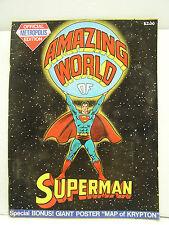 1973 Amazing World of Superman-Official Metropolis Treasury Edition (L9093)