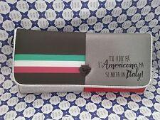 Borsa Pandorine Donna -- Grigio/Rosso Clutch Italy Stripes -- DBM02048507T.U.