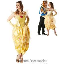 CL934 Princess Belle Storybook Fairytale Fancy Dress Costume Beauty & The Beast