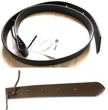 Western Tie Strap & Off Billet Leder braun für Sattelgurt am Westernsattel