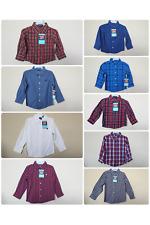 *NWT- WRANGLER - INFANT BOY'S LS PLAID DRESS SHIRT