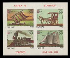 PHILIPPINES Sc#1350e, 1978 CAPEX SOUVENIR SHEET, MINT F-VF NH
