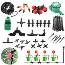 Garden Drip Irrigation System Connector Sprinkler Auto Timer Self Watering 4/7mm