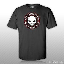God Will Judge Our Enemies We'll Arrange The Meeting T-Shirt Tee Shirt v7b