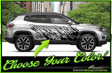 2017 2018 Jeep Compass Mud Splash Graphics