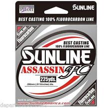 SUNLINE ASSASSIN FC FLUOROCARBON 225 YARDS select lb test