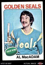 1975 Topps #253 Al MacAdam  Golden Seals EX