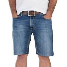 Sequence Half-E Shorts en Jeans - Court Coupe Denim Short pour Hommes