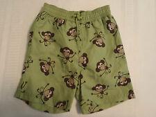 GYMBOREE Baby Boys 6-12 Month Monkey Trouble Green Swim Trunk NWT